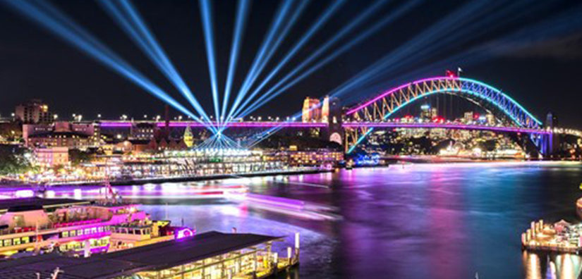 LOTS OF LIGHT AND LOVE FOR VIVID SYDNEY